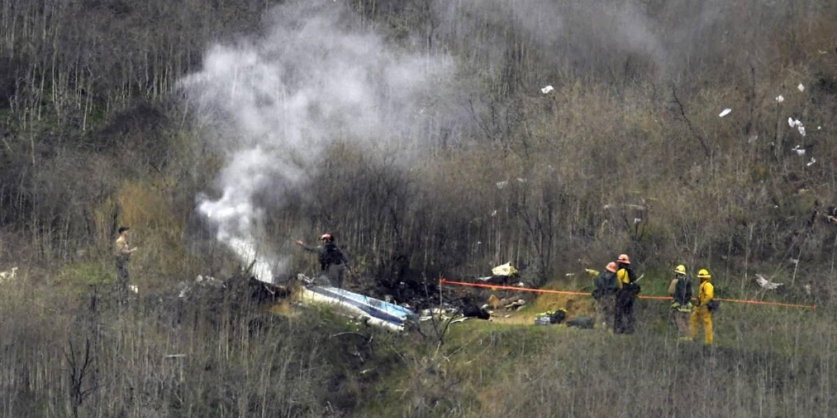 Revelan errores que cometió piloto del helicóptero en que murieron Kobe Bryant y otras siete personas
