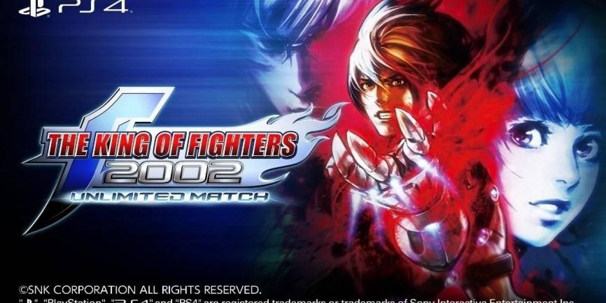 The King of Fighters 2002 Unlimited Match já está disponível no Playstation 4