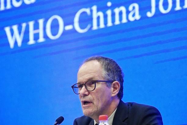 Peter Ben Embarek, jefe de misión de la OMS para investigar el COVID-19 en China.