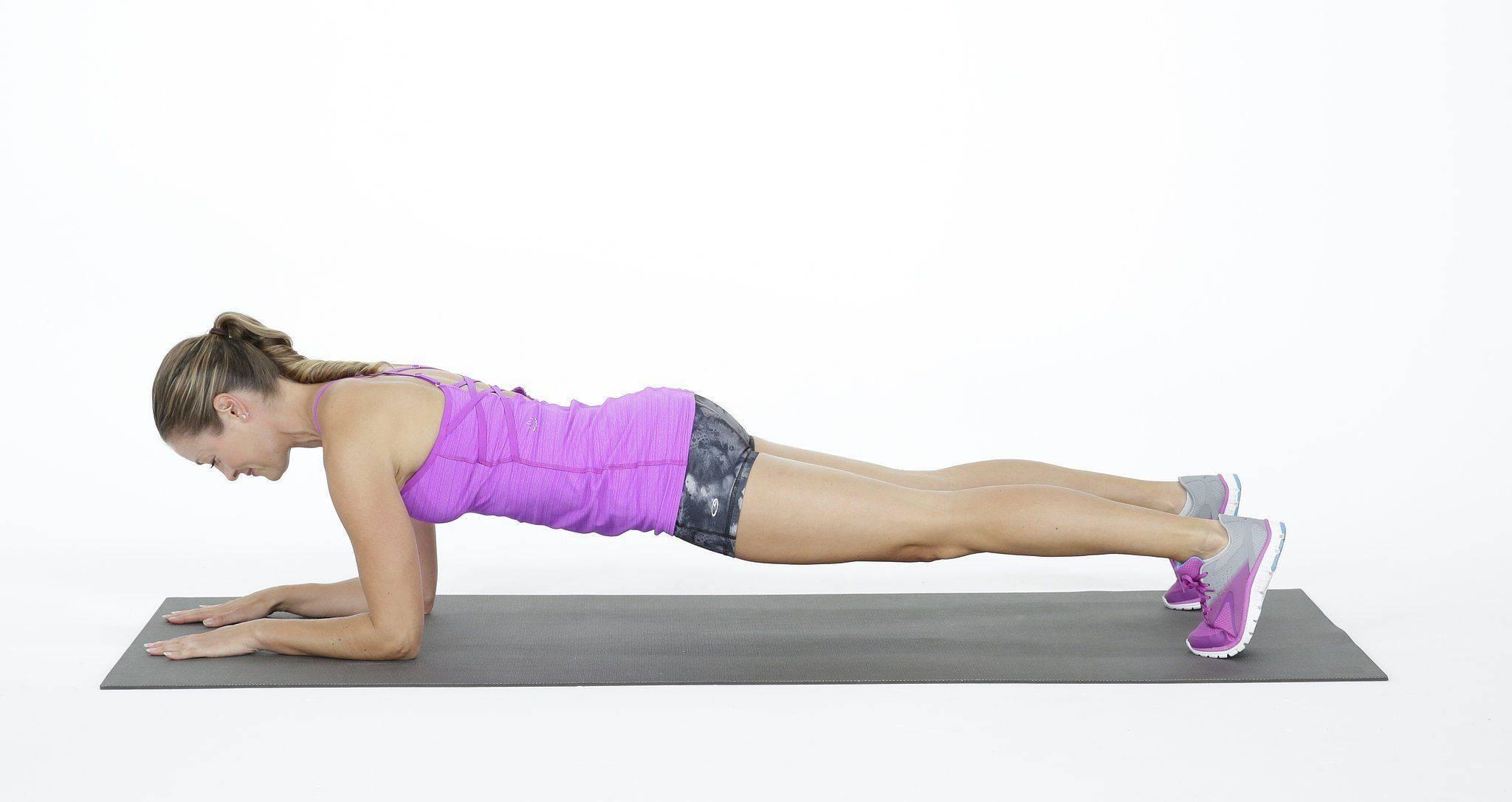 La plancha abdominal