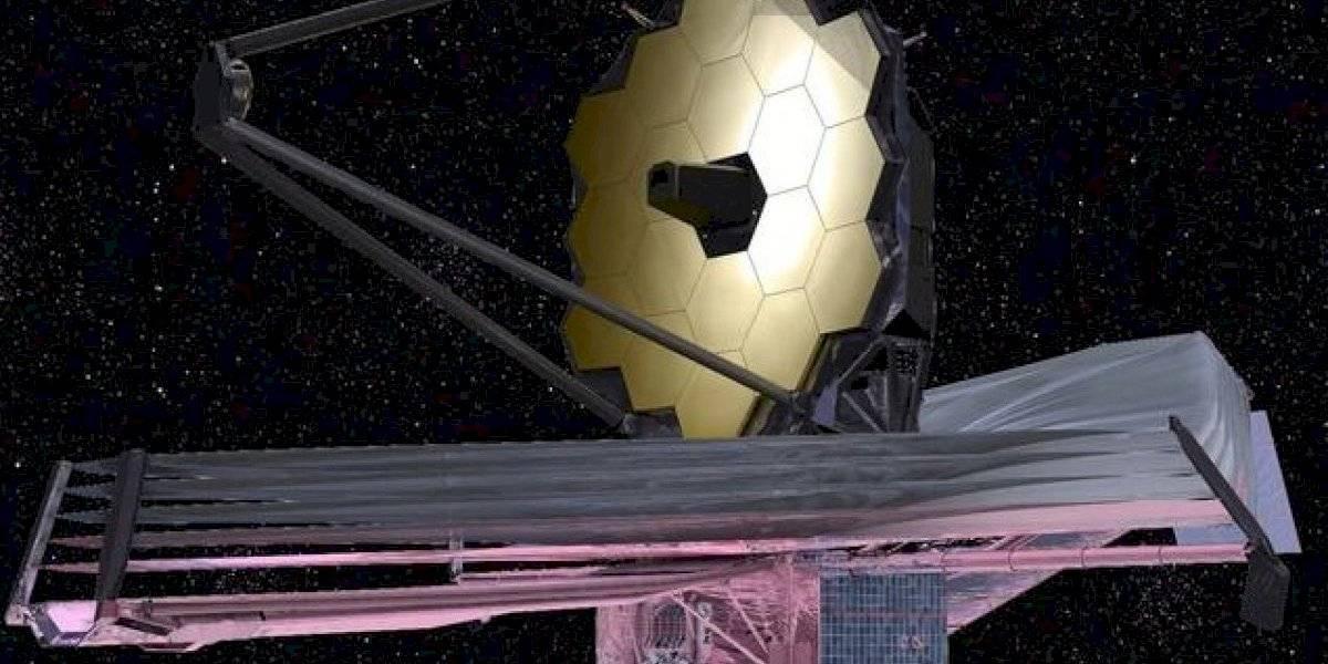 NASA se prepara para lanzar este año el telescopio espacial más grande