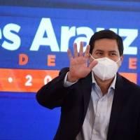 """Andrés Arauz: """"Queremos participar en la segunda vuelta con quien el pueblo haya decidido"""""""