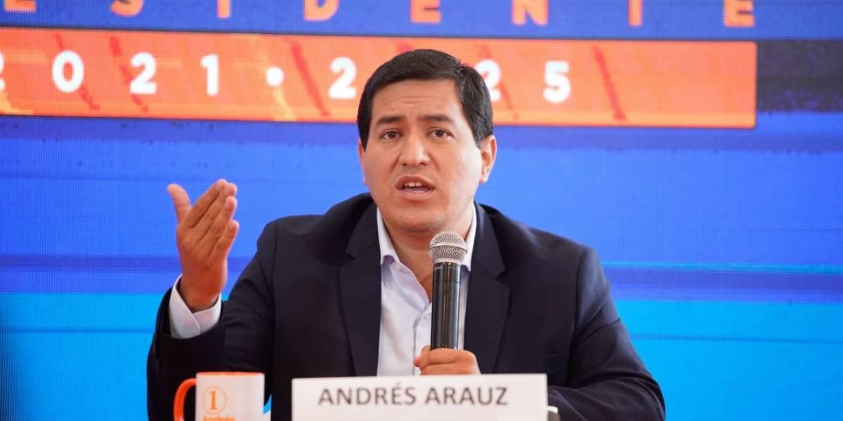 Ofrecimiento de USD 1000 de Andrés Arauz no podría cumplirse de aprobarse reformas al Código Financiero
