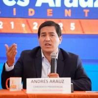 Andrés Arauz explica cómo va a financiar los mil dólares que ofrece