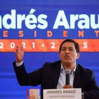 Andrés Arauz buscará revertir proyecto de Ley para Defensa de la Dolarización si alcanza la presidencia