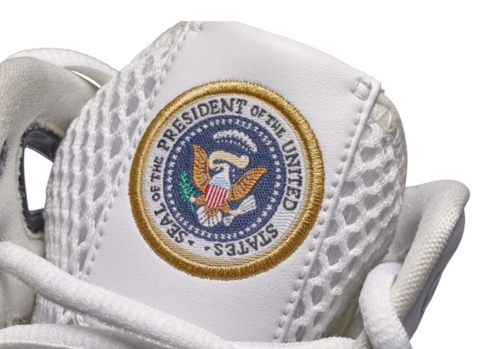 Las Nike Hyperdunk en homenaje a Barack Obama.