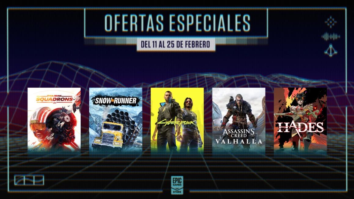 Epic Games Store descuentos primavera 2021