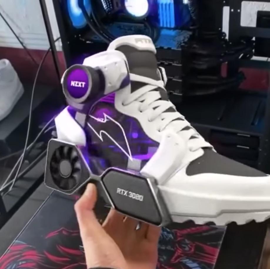 NVIDIA zapatillas digitales