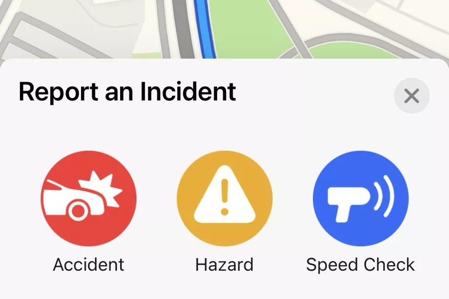 Apple Maps se pone más Waze que nunca: agrega reportes de accidentes de tránsito