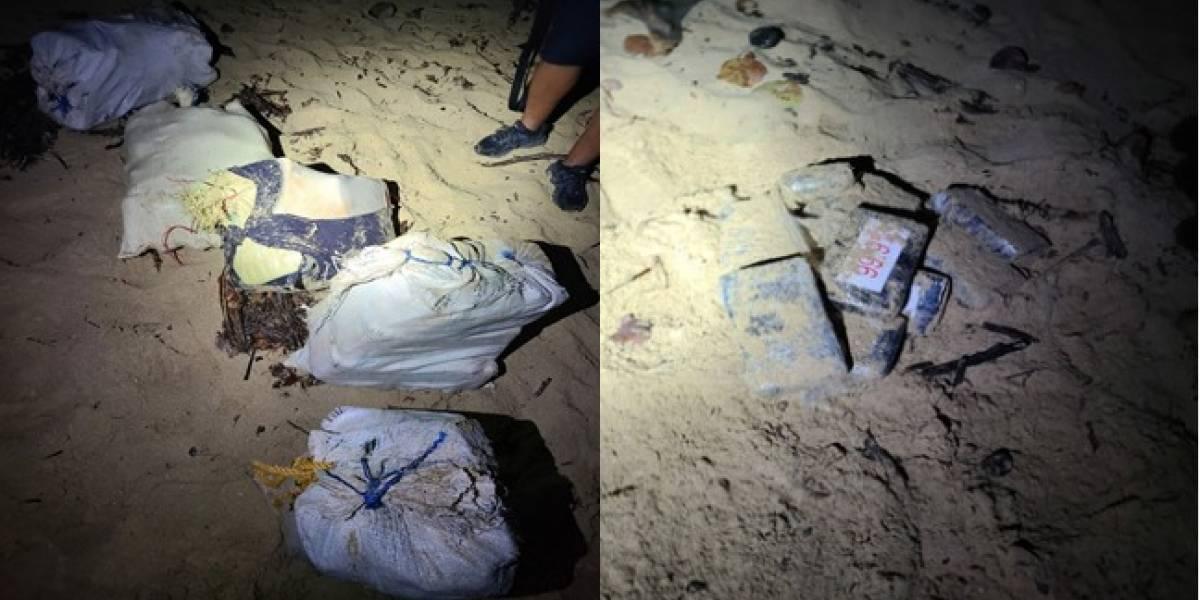 Incautan cargamento de droga valorado en $4.4 millones en playa de Manatí