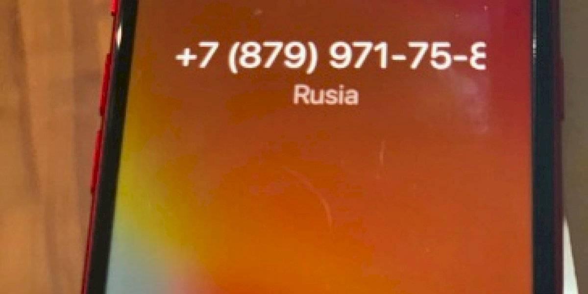 Llamadas con números de Rusia y Liberia podrían robarte información