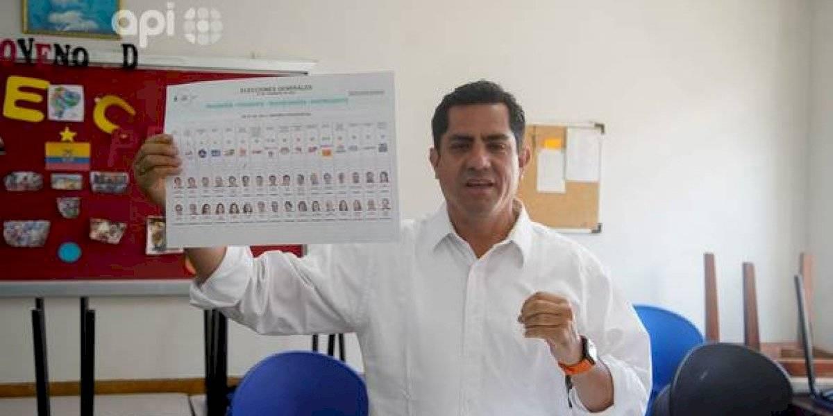 """Xavier Hervas a Rafael Correa: """"alguien que llegó a ese puesto debería guarda compostura"""""""