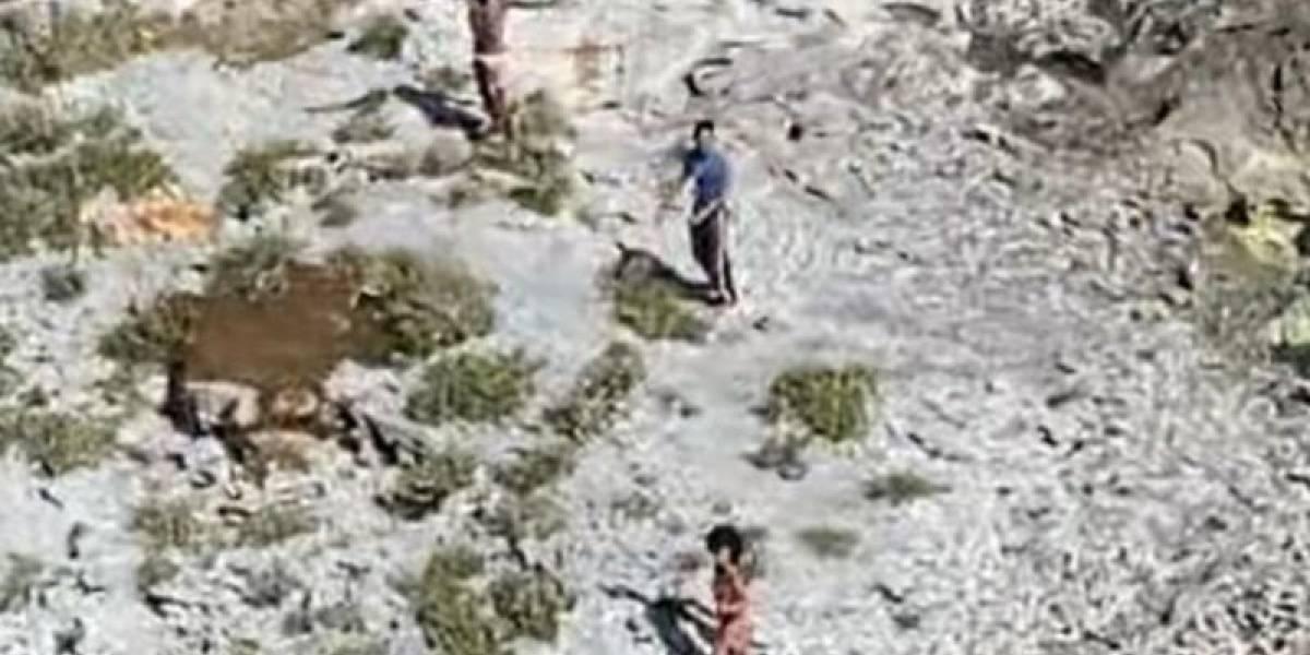 Vídeo: três pessoas são resgatadas de ilha deserta após 33 dias comendo ratos e caramujos