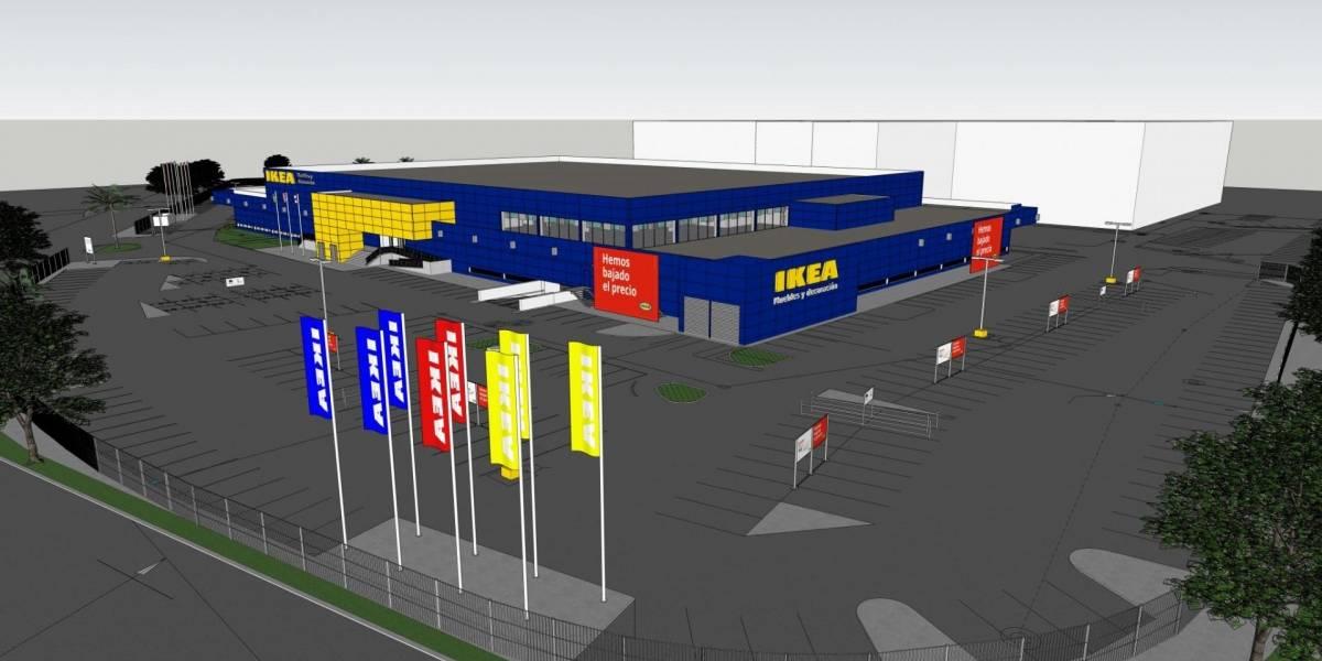 Para julio la tienda IKEA en Santa Rosa Mall en Bayamón
