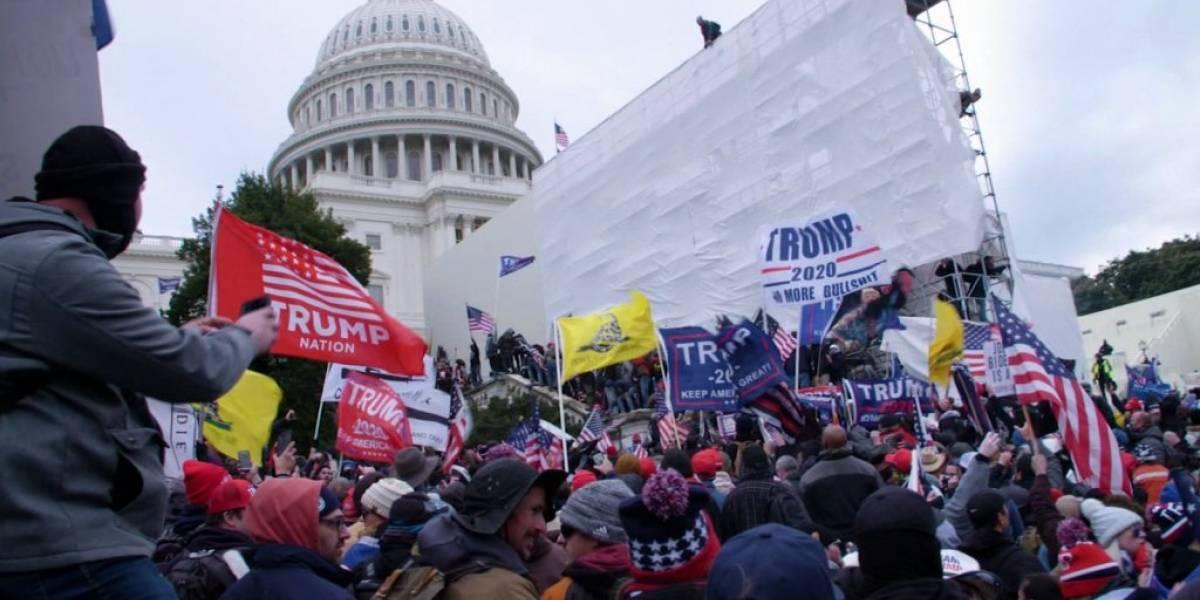 Se revelan estremecedores videos inéditos del asalto al Capitolio, Estados Unidos