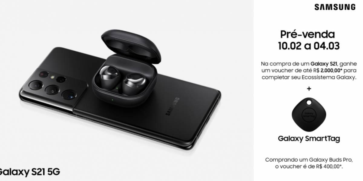 Samsung Galaxy: S21 Ultra, S21+, S21 e Buds Pro já estão disponíveis para pré-venda no Brasil