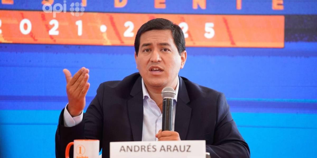 El Tribunal Contencioso Electoral (TCE) desecha denuncia de campaña contra Andrés Arauz
