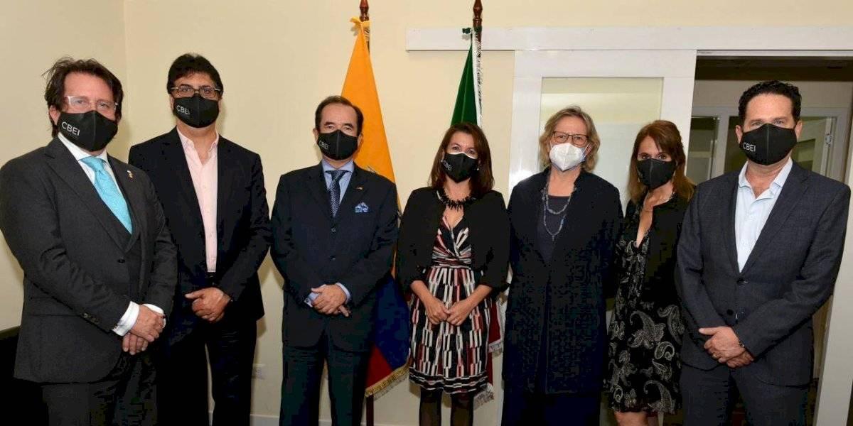 Inauguración de la Oficina Quito de la Cámara de Comercio Binacional Ecuatoriano Italiana