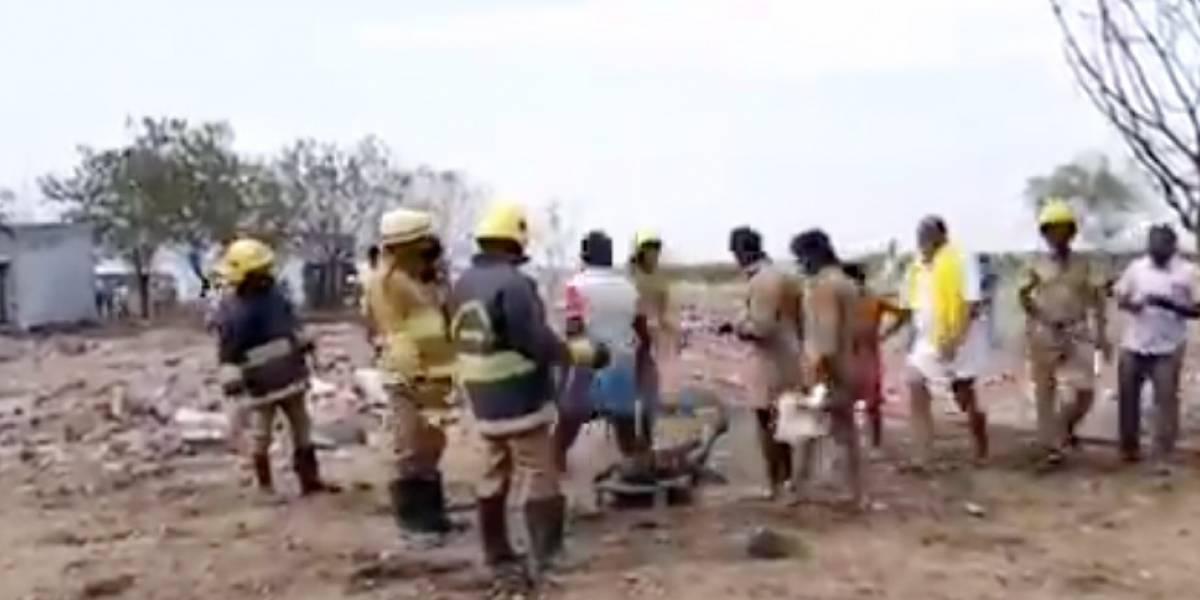 Explosión en fábrica de fuegos artificiales en India deja 11 muertos y 37 heridos