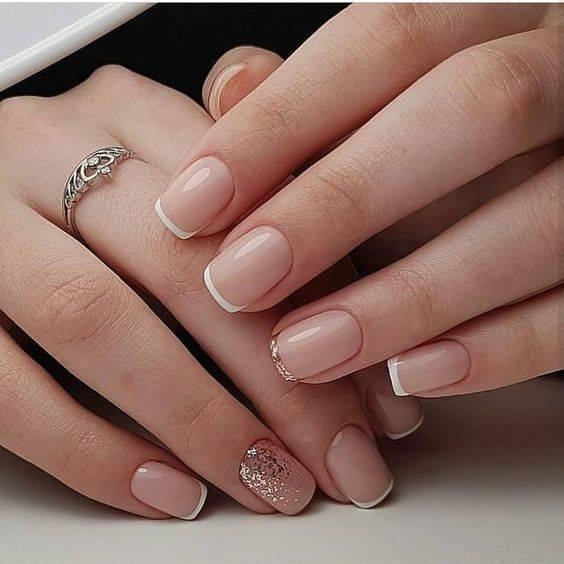 diseños de uñas para novias y boda