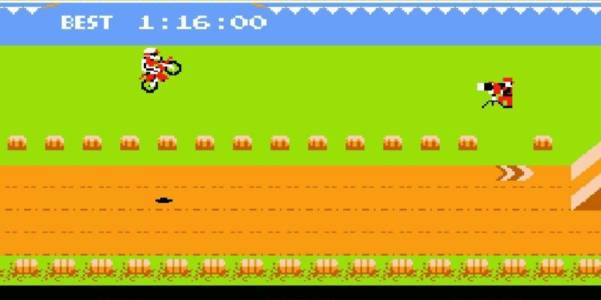 Recordando a Excitebike, el juego de motocross para NES