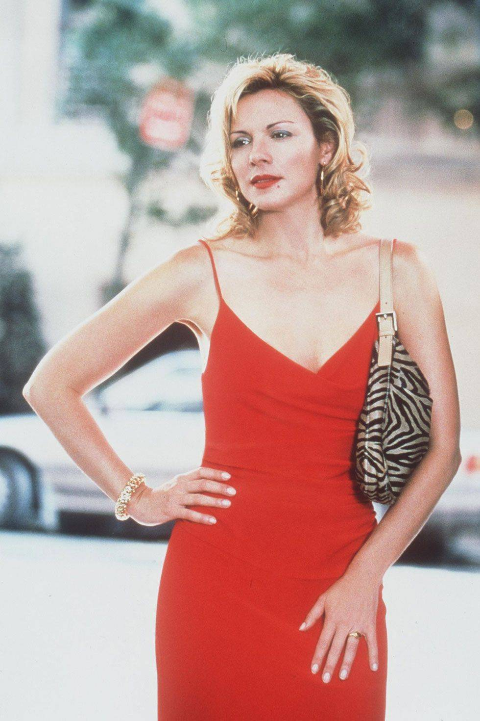 samantha jones red dress