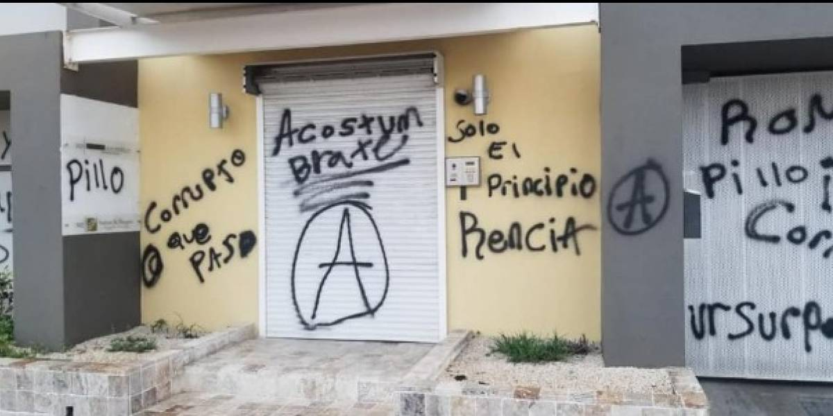 A prisión hombre que vandalizó edificio del Comité de Miguel Romero
