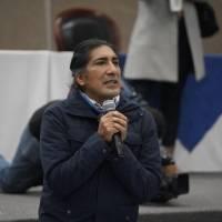 """Yaku Pérez: """"Ni sueñen que nosotros vamos apoyar a Guillermo Lasso o la banca"""""""