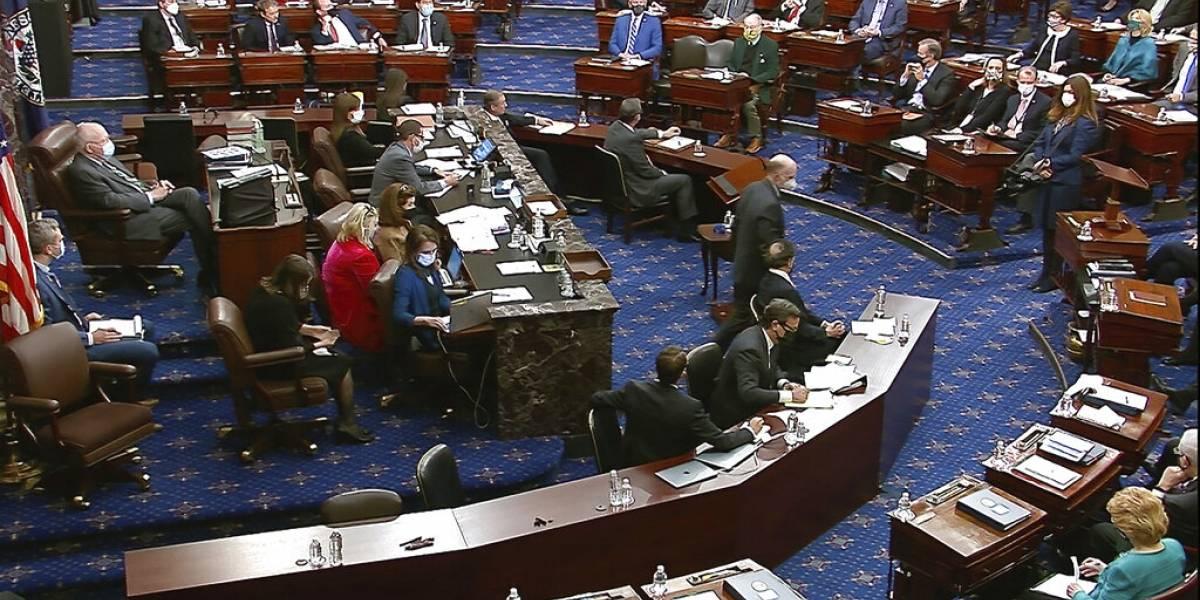 Senadores deciden seguir juicio a Trump, sin citar testigos