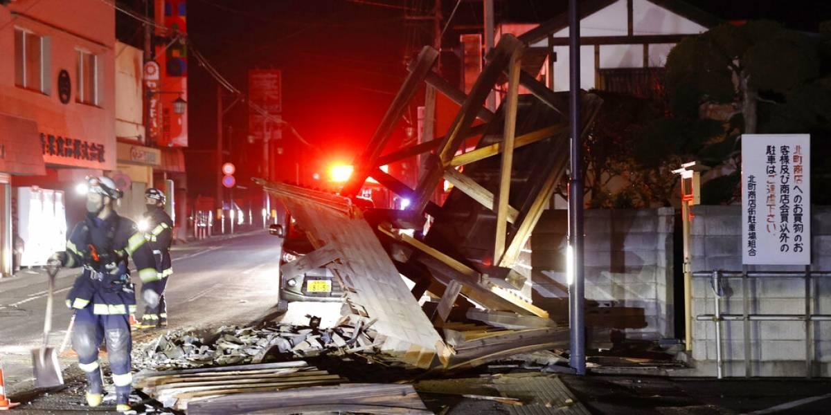 Sismo registrado en Japón resulta ser de 7.3 de magnitud