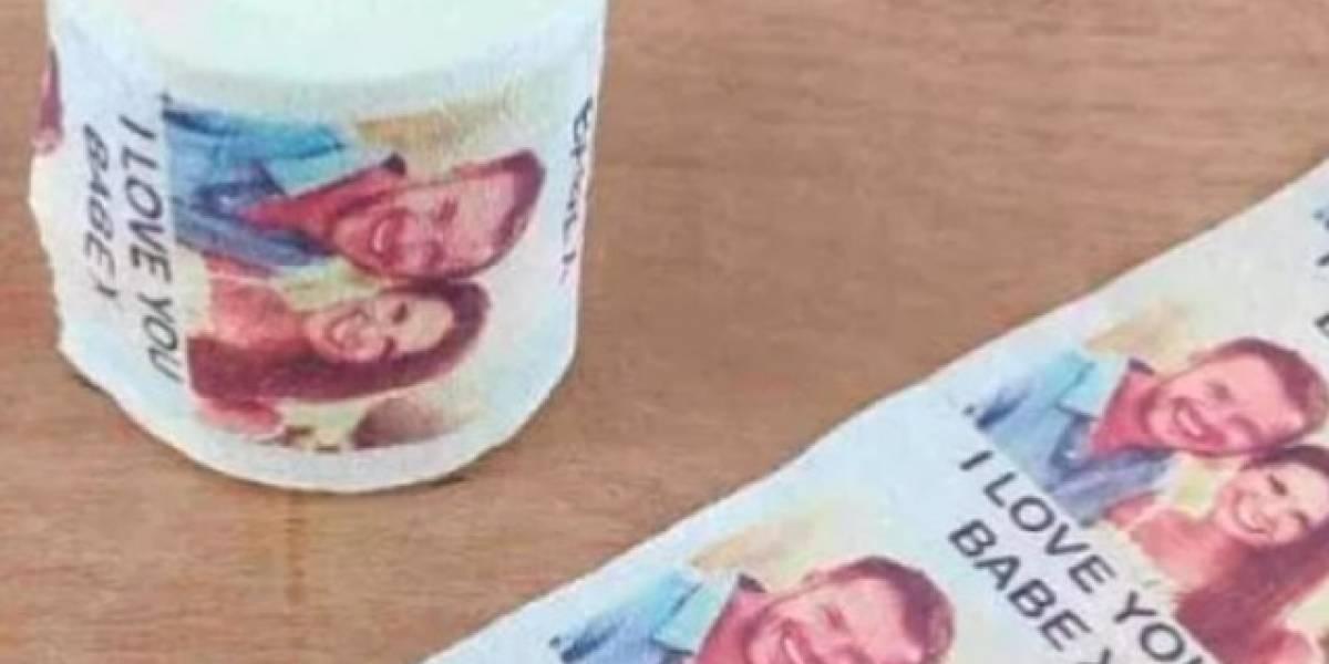 Empresa vende papel higiênico personalizado com a foto do seu ex; saiba mais