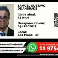 Imagens de desaparecidos são divulgadas nos vagões do Metrô de São Paulo