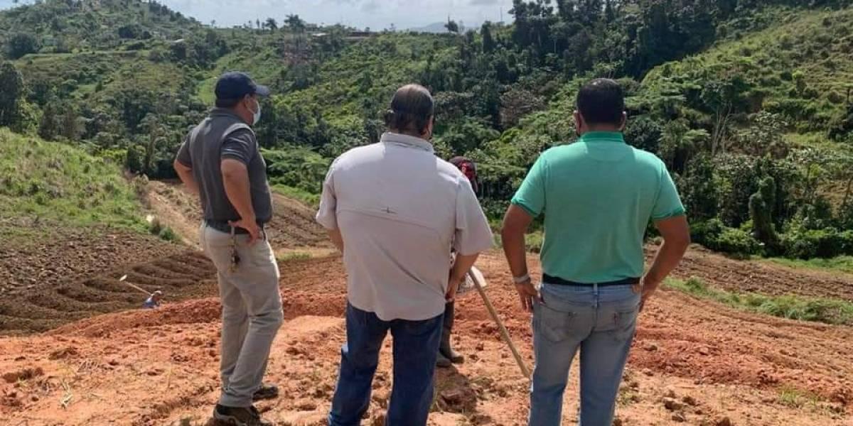 Alcalde de San Lorenzo anuncia desarrollo de finca para agricultura