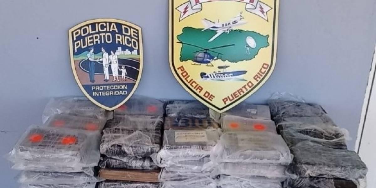 Autoridades incautan cargamento de cocaína en la zona oeste