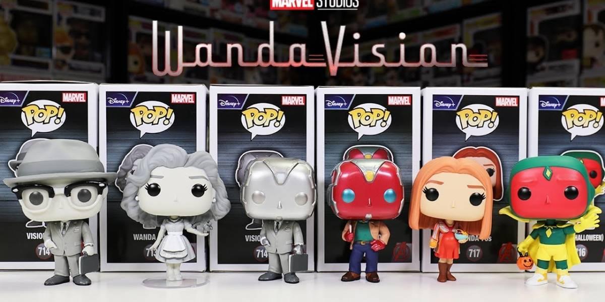 Los nuevos Funko Pop de Wandavision crean revuelo en las redes sociales por la posible revelación de un nuevo personaje