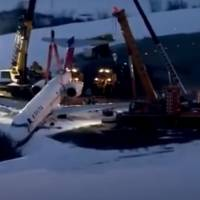 Aeronave quase despenca com passageiros em Pittsburgh; veja imagens