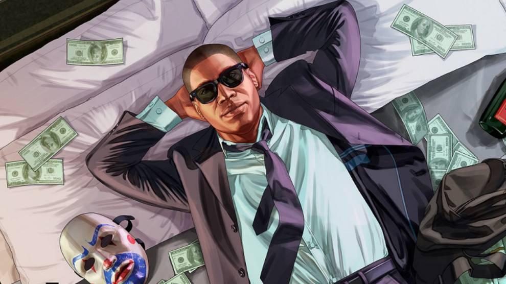 GTA V millón de dólares