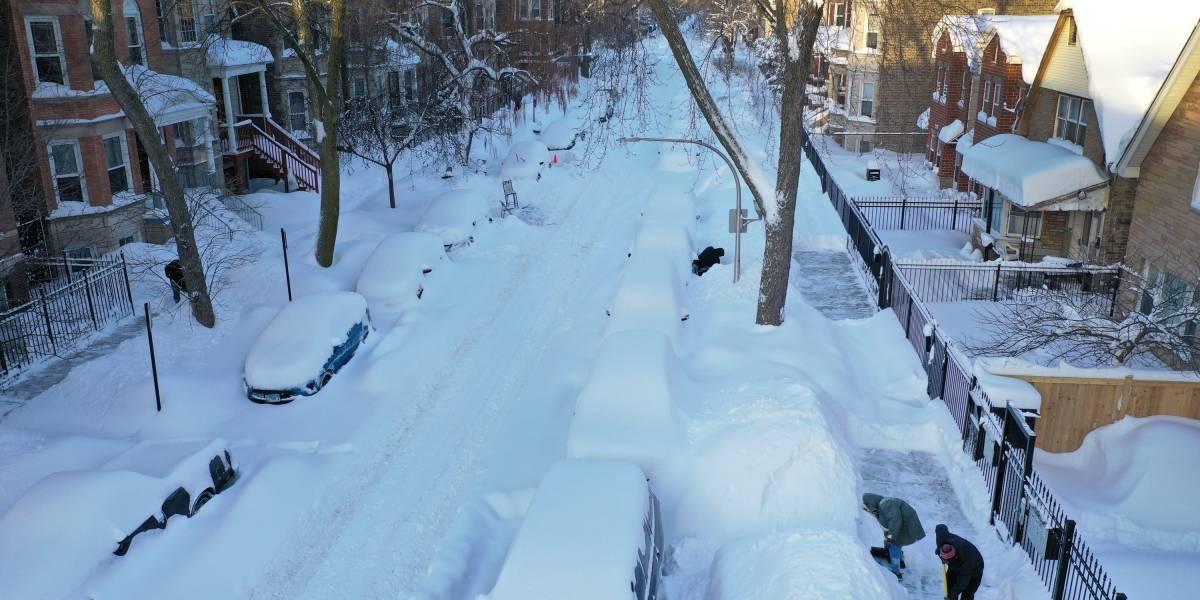 Nevasca deixa milhões sem energia nos Estados Unidos