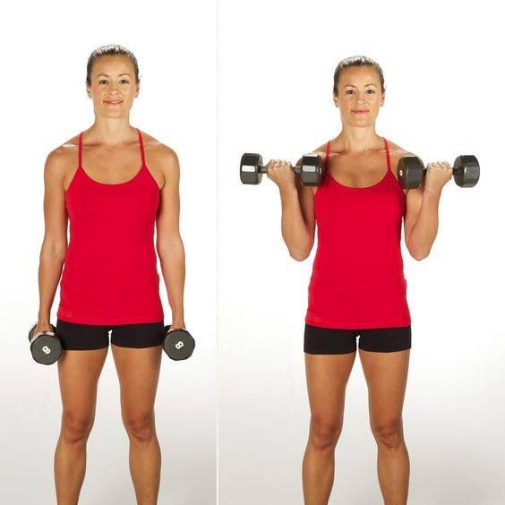ejercicios para aumentar brazos en casa