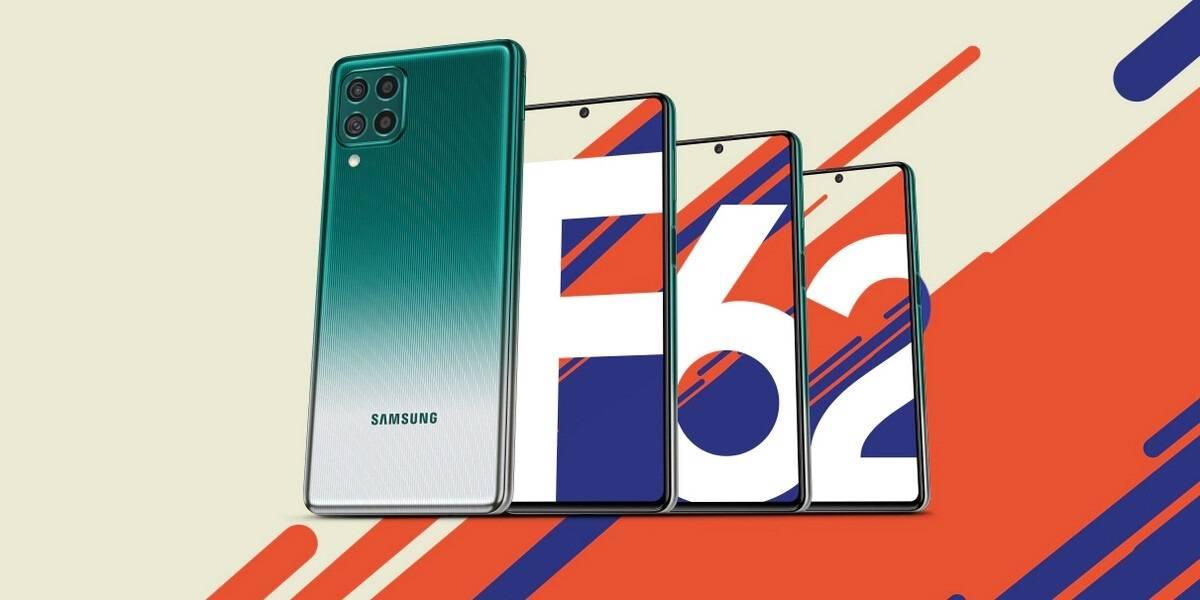 Samsung Galaxy F62 es anunciado con una batería de 7.000mAh que dura 2 días