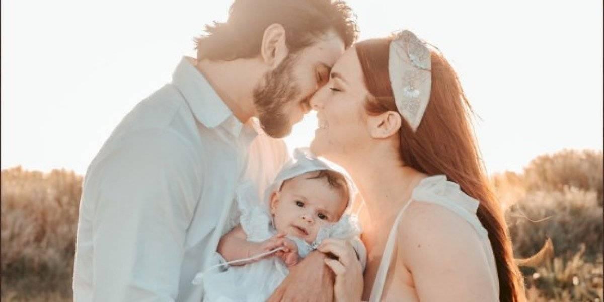 Brian Afanador presenta a su hija en tiernas primeras fotos
