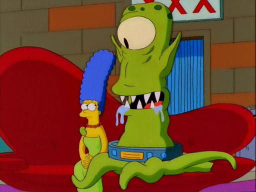 Los Simpson padre de Maggie