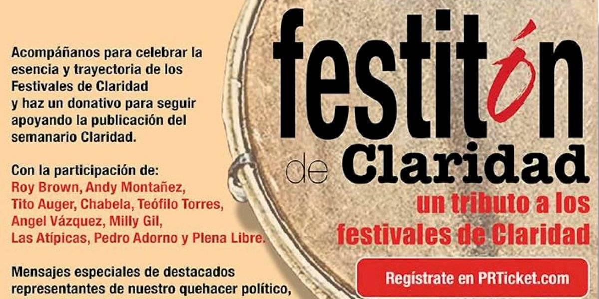 Rendirán tributo a los Festivales de Claridad en evento virtual