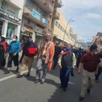 Así será el recorrido que realiza Pachakutik para llegar a Quito