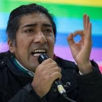 """Yaku Pérez pide disculpas por las declaraciones que dio el miércoles sobre el CNE y Guillermo Lasso: """"Me salió la indignación"""""""