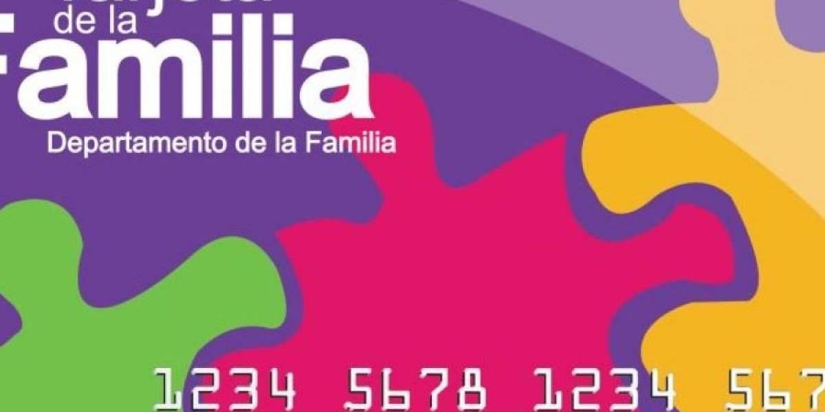 El viernes comienzan a depositar los $119 en la Tarjeta de la Familia para alimentos no preparados