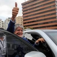 Guillermo Lasso insta por un Ecuador unido en medio de la movilización indígena