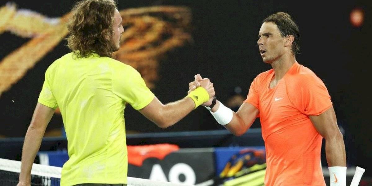 Stéfanos Tsitsipas elimina a Rafael Nadal en Australia