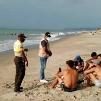 Más de un centenar de policías contagiados de COVID-19 durante su trabajo