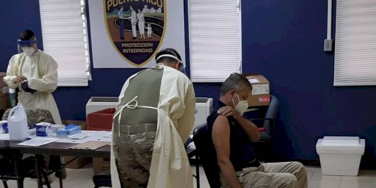 Cerca de 2 mil policías ya recibieron la segunda dosis de la vacuna COVID-19